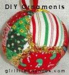 diy christmas ornaments button