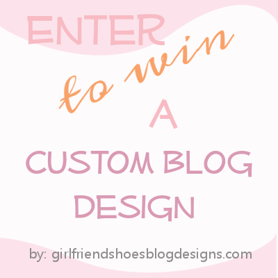 custom blog design | win a blog makeover