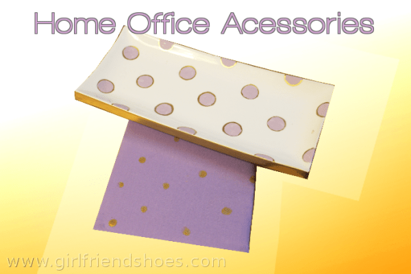 home office accessories | gold