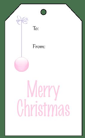 gift tag printable