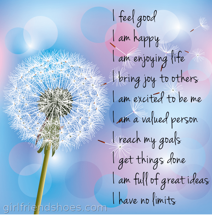 free printable affirmations