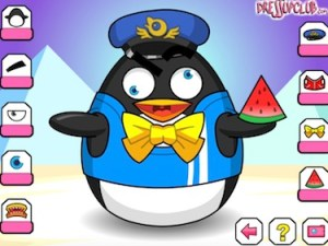 Crazy Penguin Dressup