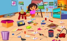 Dora Drawing Room Cleaning