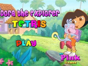 Dora the Explorer Tetris