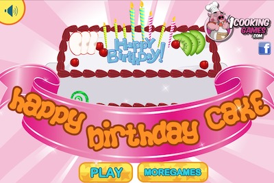 Superb Happy Birthday Cake Girl Games Girl Games Funny Birthday Cards Online Eattedamsfinfo