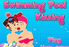 Swimming Pool Kissing