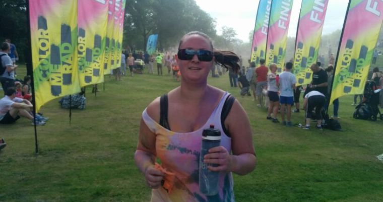 Color Me Rad – My 5k Rainbow Experience