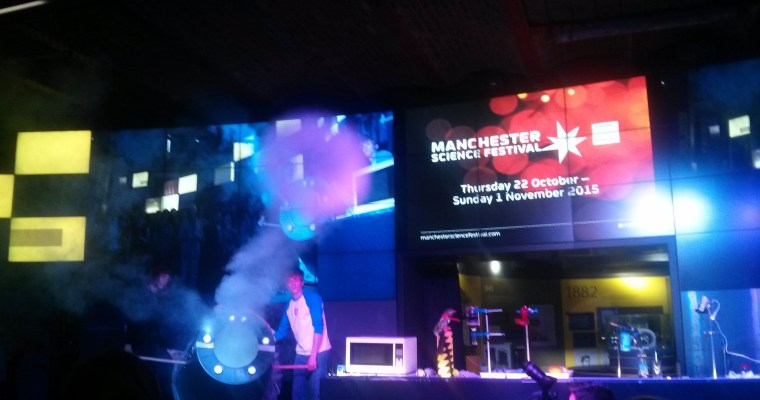 Manchester Science Festival 2015 – The Launch