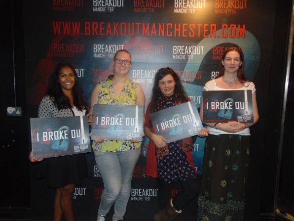 Breakout Manchester Reclassified