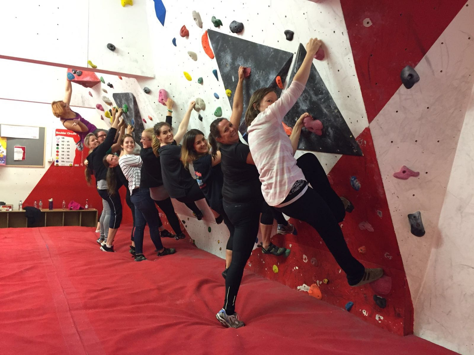 Women Climb – beginner rock climbing event