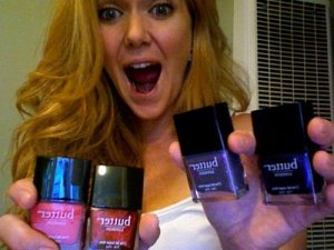 "Ulta ""21 Days of Beauty"" score.  Butter London nail polishes, buy one get one free.  The joy in my eyes.  Oy."