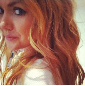 Confirm. Strawberry blonde brunette redhead