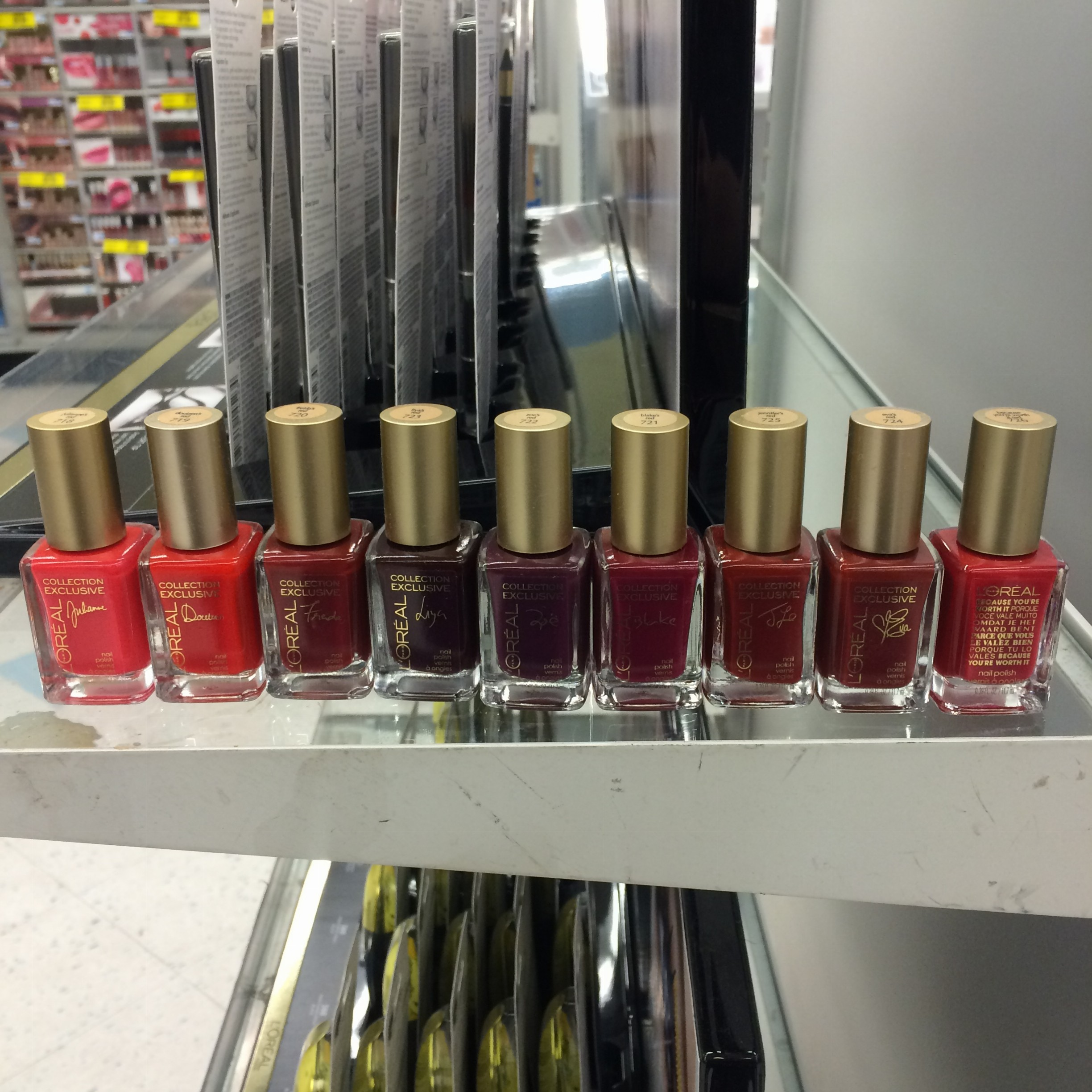 L\'Oreal Collection Exclusive 2015 Red Lipsticks + Polishes ...