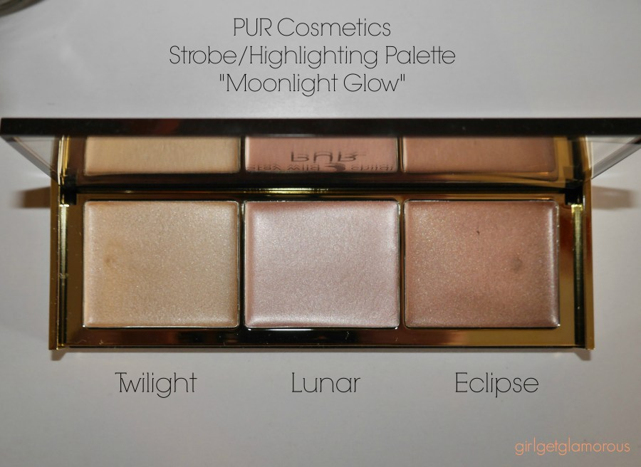 pur cosmetics moonlight glow review best strobe highlighting palette cream natural beauty blog blogger los angeles