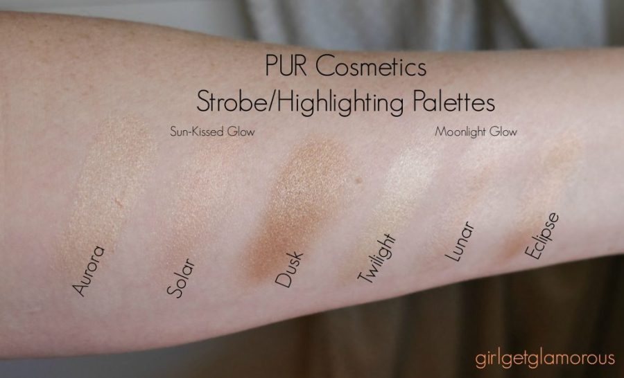 pur cosmetics moonlight glow review best strobe highlighting palette cream natural beauty blog blogger los angeles moonlight swatches