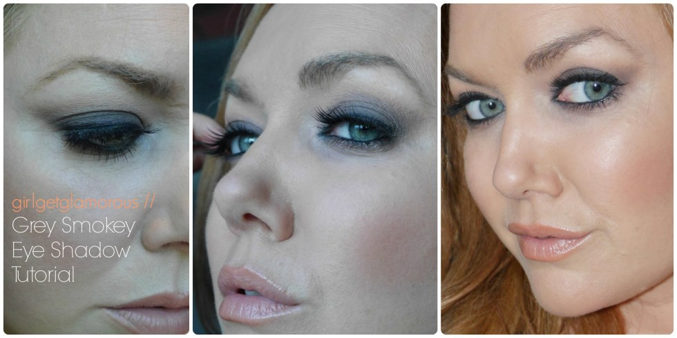 grey smokey eye makeup tutorial redheads strawberry blondes fair skin