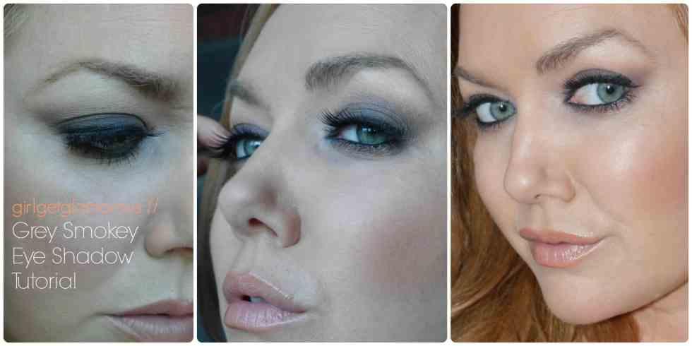 grey smokey eye makeup tutorial redheads strawberry blondes fair skin