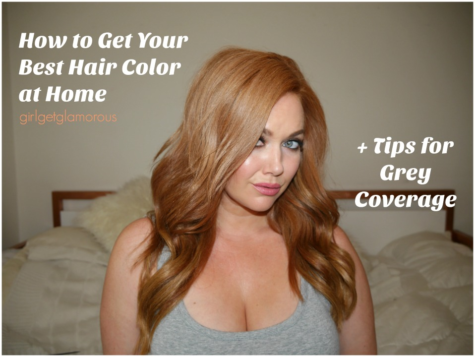 How To Get Your Best At Home Hair Color | My Strawberry Blonde ...