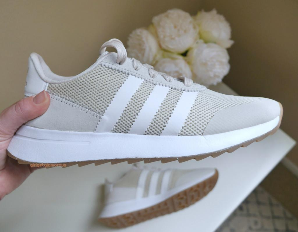 picture of adidas flashback running shoes casual in beige from nordstrom anniversary sale 2018 from beauty blog blogger