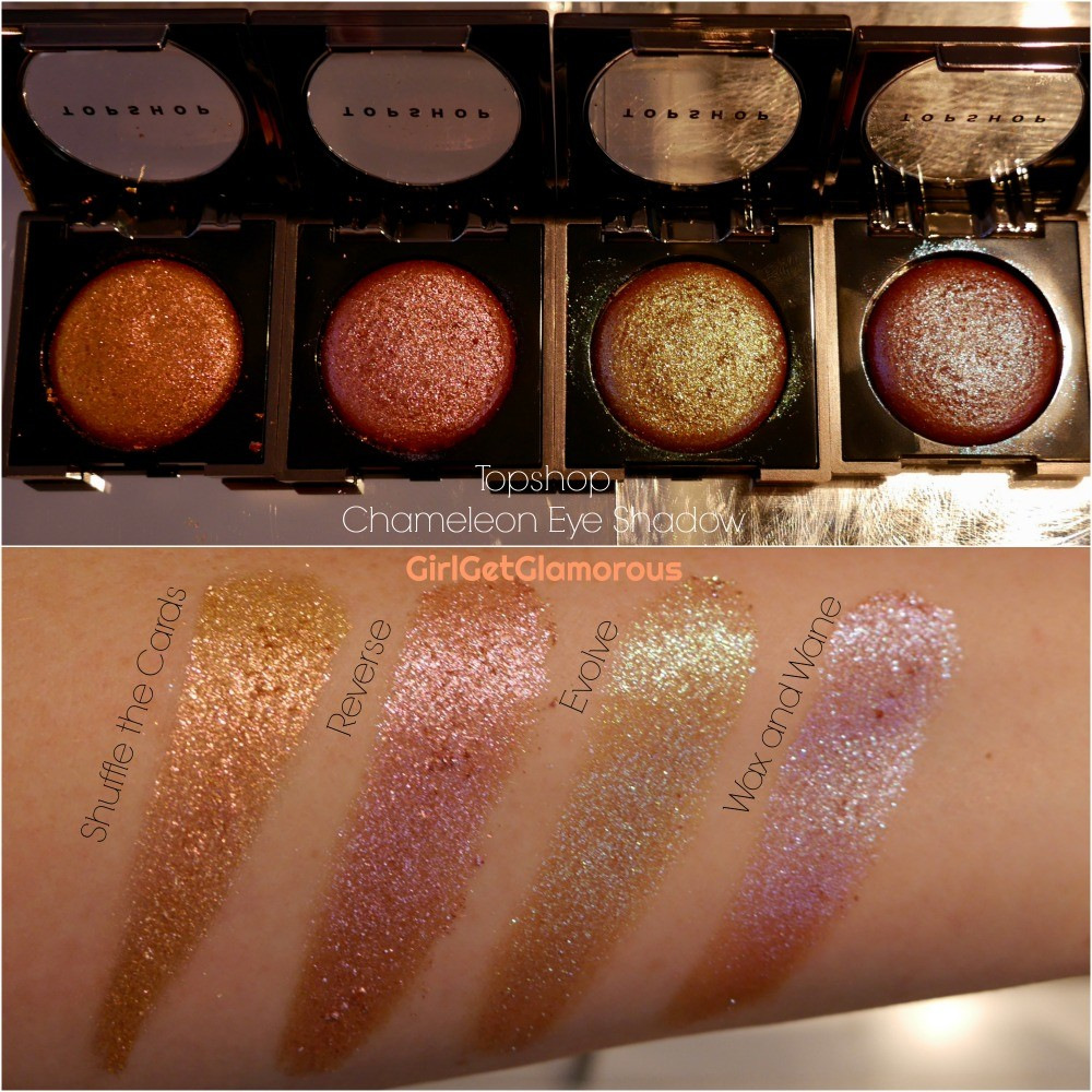 topshop chameleon eye shadow best top swatches swatch shades pictures
