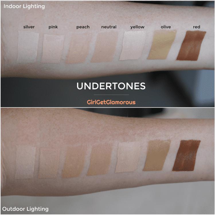 foundation undertones guide