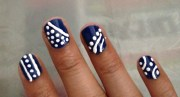 simple nail art step
