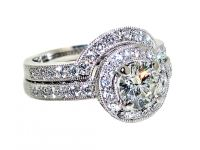 tiffany wedding ring sets