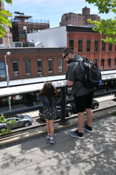 Great view of this part of the city on The High Line
