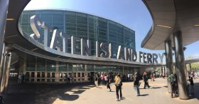 Entrance into the Staten Island Ferry Terminal