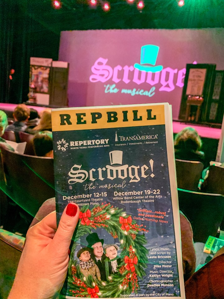 NTPA Repertory Theatre Presents Scrooge the Musical