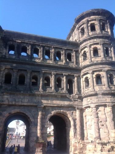 Roman city gate