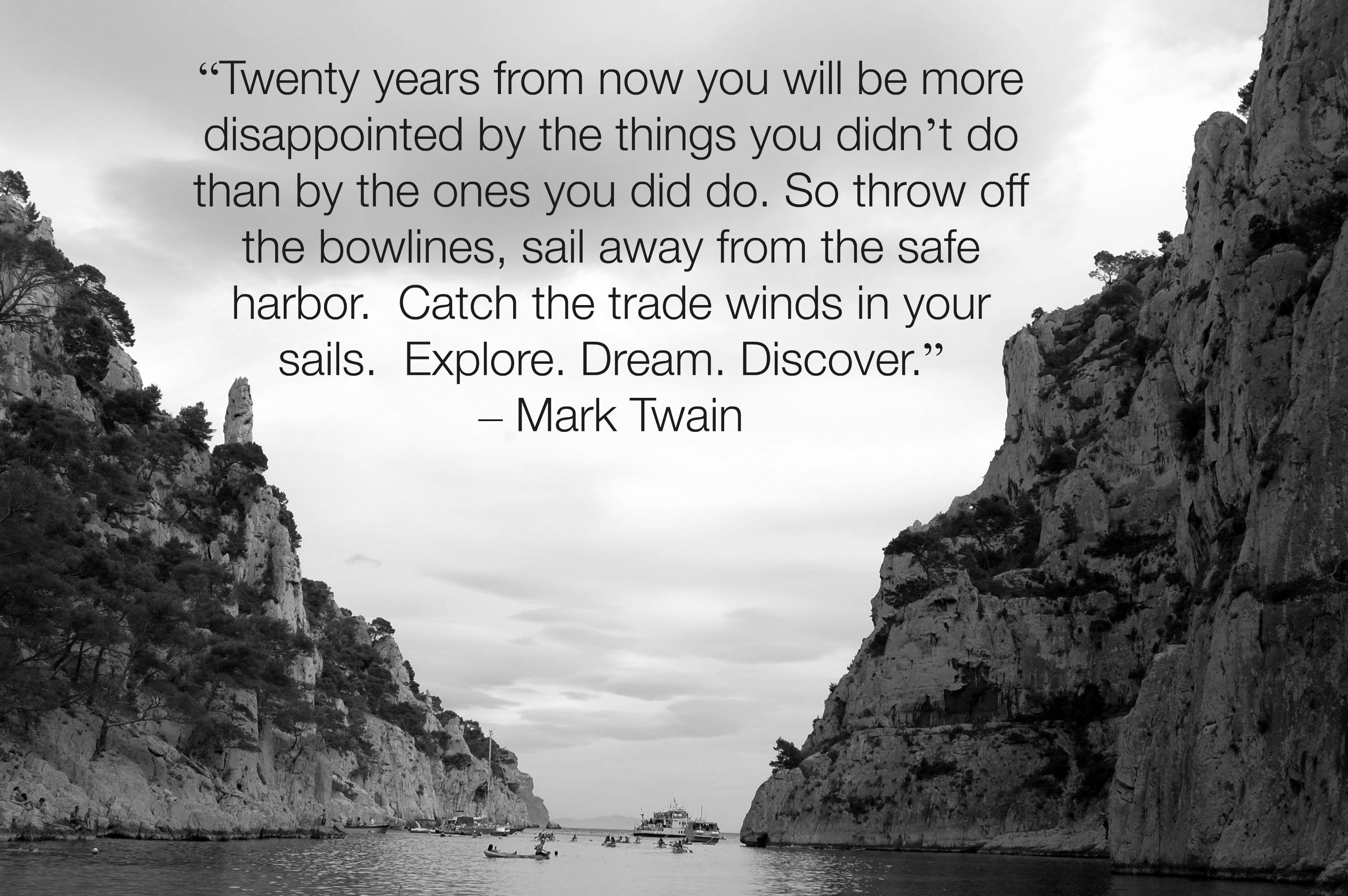Travel Quotes - Mark Twain | Girl Gone Gallic