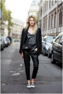 What not to wear Paris - leather