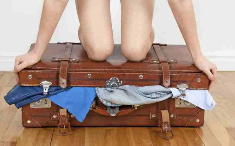 Budget travel in France - packing