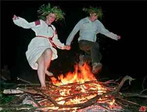 Celtic fire festivals