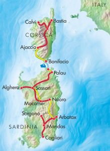 Planning Your Trip to Corsica - Map