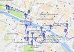 Friday Fun Facts Walking Map