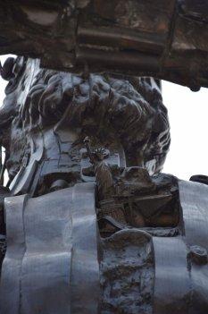 Friday Fun Facts Statue of Liberty Paris - Scupture by César le Cintaure