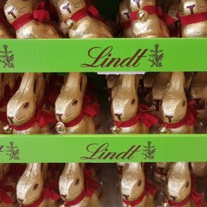 Silent Sunday...Lindt Easter Bunnies