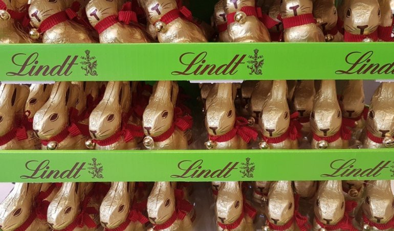 Silent Sunday...Lindt Easter Bunnies