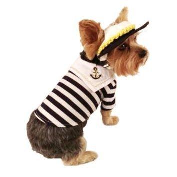 La Marinière - French Sailor's Shirt - dog
