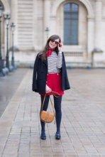La Marinière - French Sailor's Shirt - winter outfit