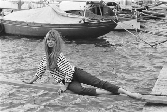 La Marinière - French Sailor's Shirt - Brigitte Bardot