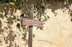 Provence's Blue Coast - Grand Méjean signpost