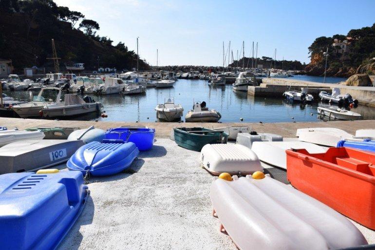 Provence's Blue Coast - harbor boats