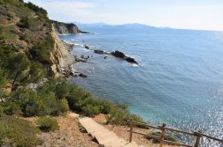 Provence's Blue Coast - stairs to Calanques Athénors
