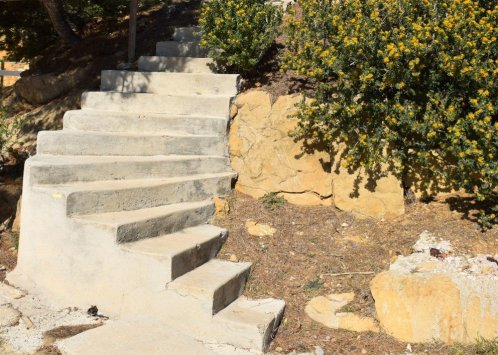 Provence's Blue Coast - stairs toward Calanque Petit Méjean