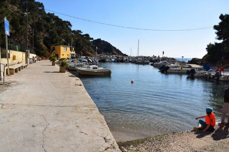 Provence's Blue Coast - Grand Méjean port