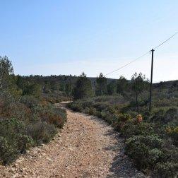Provence's Blue Coast - Côte Bleue - easy road down to Calanque d'Erevine