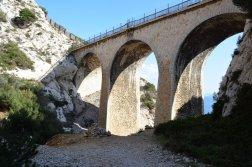 Provence's Côte Bleue - viaductby Calanque d'Erevine